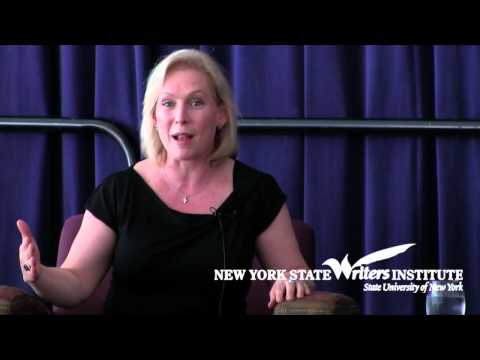 Kirsten Gillibrand on being a young mom in the U.S. Senate