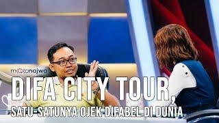 Video Mata Najwa Part 4 - Cerita Baik: Difa City Tour, Satu-Satunya Ojek Difabel di Dunia download MP3, 3GP, MP4, WEBM, AVI, FLV Juni 2018
