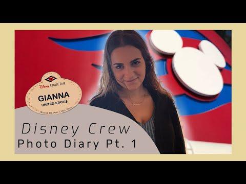 Disney Cruise Line | Photo Diary 1 | Crew Life