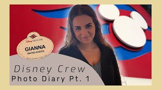 Disney Cruise Line | Photo Diary 1 | Crew Life
