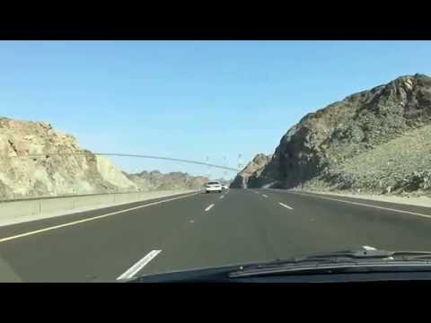 Makkah Madinah Highway, best road network Saudi Arabia 2016