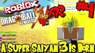 ¡UN SUPER SAIYAN 3 ES BORN! Roblox: Dragon Ball Xenoverse BR - Episodio 4