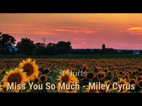 Miss You So Much - Miley Cyrus { Tradução}
