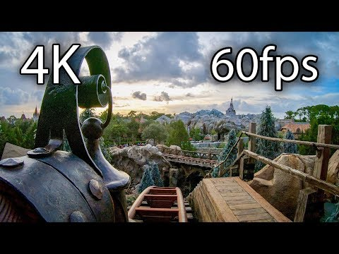 Seven Dwarfs Mine Train Front Seat On-ride 4K POV @60fps WDW Magic Kingdom