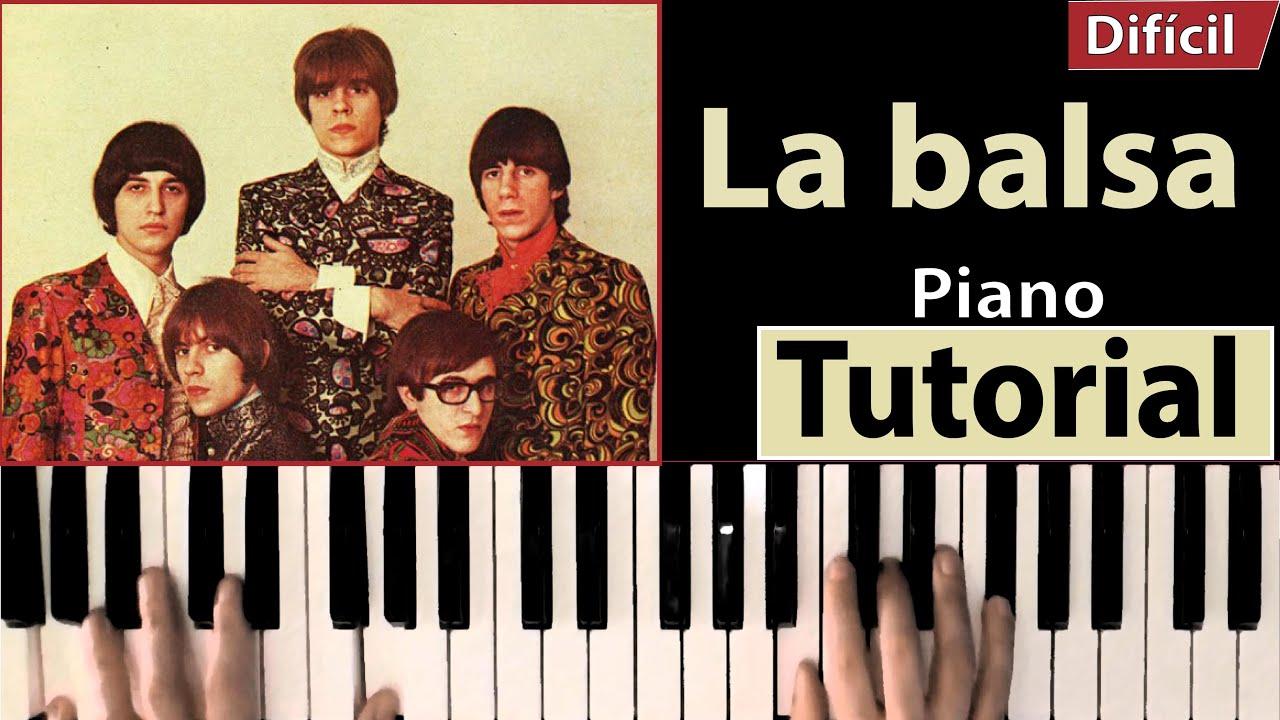 """Como tocar """"La Balsa""""(Los Gatos, Litto Nebbia, Tanguito) - Piano tutorial, partitura y Mp3"""