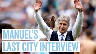 IT WILL BE VERY DIFFICULT TO LEAVE THIS CLUB | Pellegrini Final City Interview