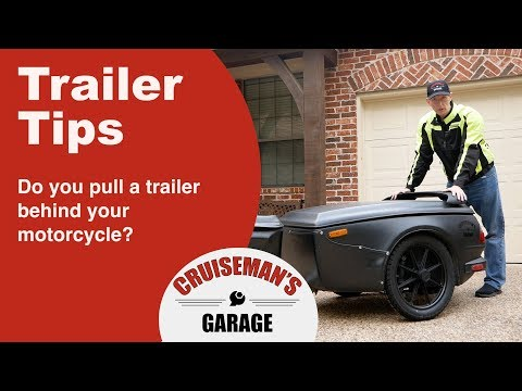 Tips On Towing A Trailer Behind Your Motorcycle