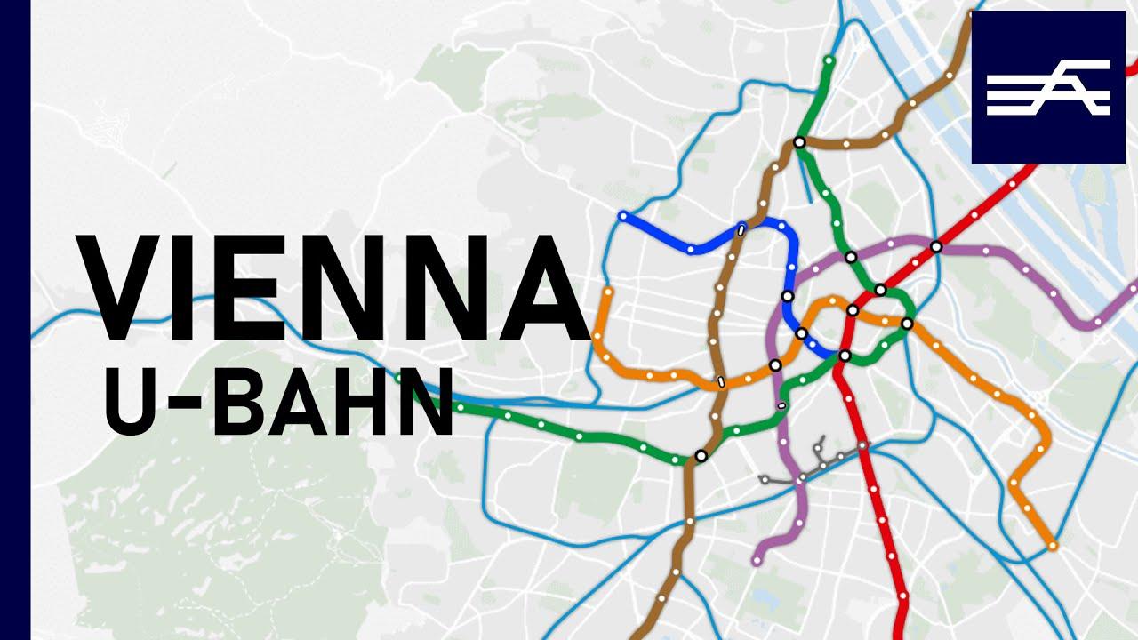 Vienna U-Bahn Expansion 1898-2032
