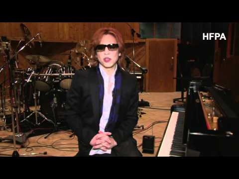 Yoshiki creates a theme song for the Golden Globes