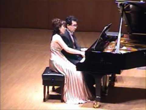 Brahms: Hungarian Dances  No.1, 2, 5 / DUO Hojo&Sosa
