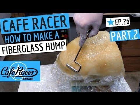 PART 2 of Cafe Racer Hump Build, Fiberglass (Fiberglass) Mould, Honda CB750 Cafe Bike Episode 26. I finishing off the foam shaping, make a fibreglass ...