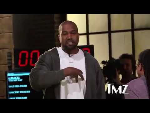 KANYE ALMOST GETS INTO FIGHT AT TMZ LMAOO