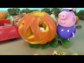 Peppa Pig Pumpkin Competition Halloween 2017 Full English Episode + Peppa Pig Toys + Play Doh