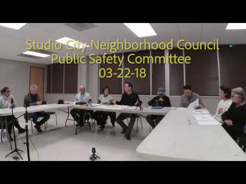 SCNC Public Safety Committee 03 22 18