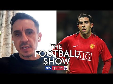 """Gary Neville claims Carlos Tevez """"downed tools"""" during his final days at Man Utd!"""