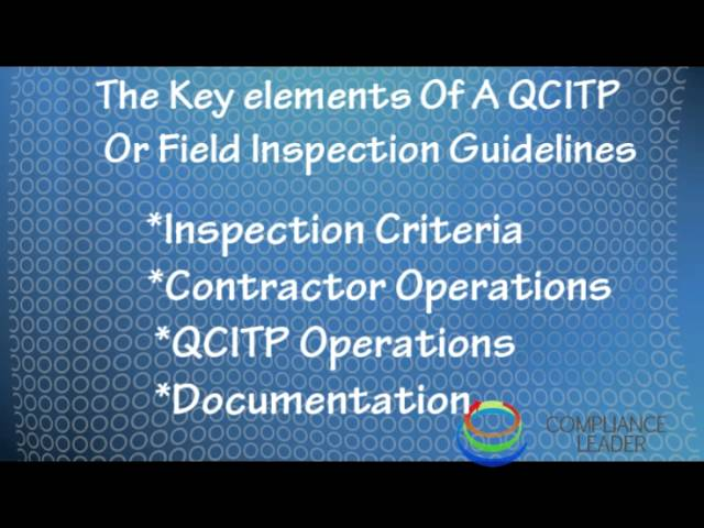 What Is The Inspection And Test Plan ITP Mande Blog