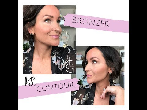 How to Apply Bronzer versus Contour with Maskcara Beauty