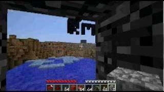 Huge Minecraft TNT Block- Break through Bed rock Music Series #1