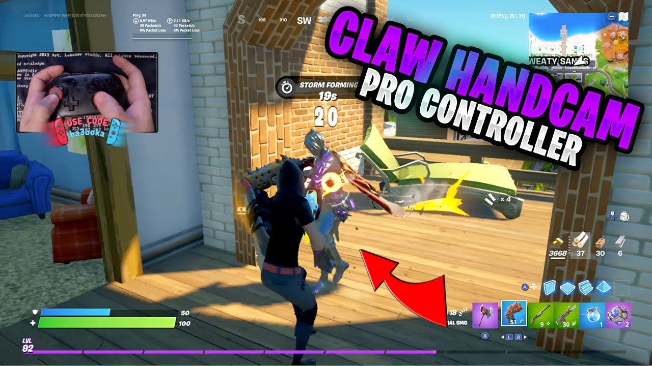 Fortnite on the Nintendo Switch Pro Controller #359