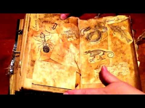 A witch's spell book!