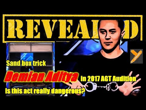 Revealed: Demian Aditya (Sandbox Escape Trick) in AGT 2017 Audition