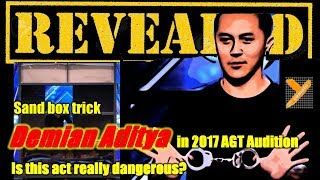 Reveal: Demian Aditya (Sandbox Escape Trick) in AGT 2017 Audition