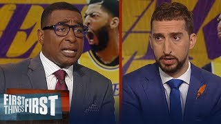do the lakers need a third star to win a title cris and nick discuss nba first things first