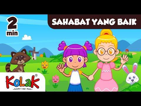 Lagu Anak Indonesia | SAHABAT YANG BAIK | TK Dan PAUD