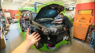 This Just Got EXPENSIVE! — **Supercharged Toyota 4Runner**