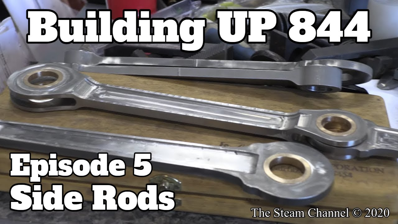 Building UP 844: Side Rods