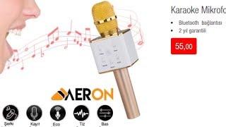 Karaoke Mikrofon İncelemesi BIM den aldım