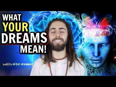 What Your Dreams Mean! (Dream Psychology Explained) *Watch After You Dream*