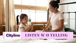 How to get a toddler to listen without raising your voice