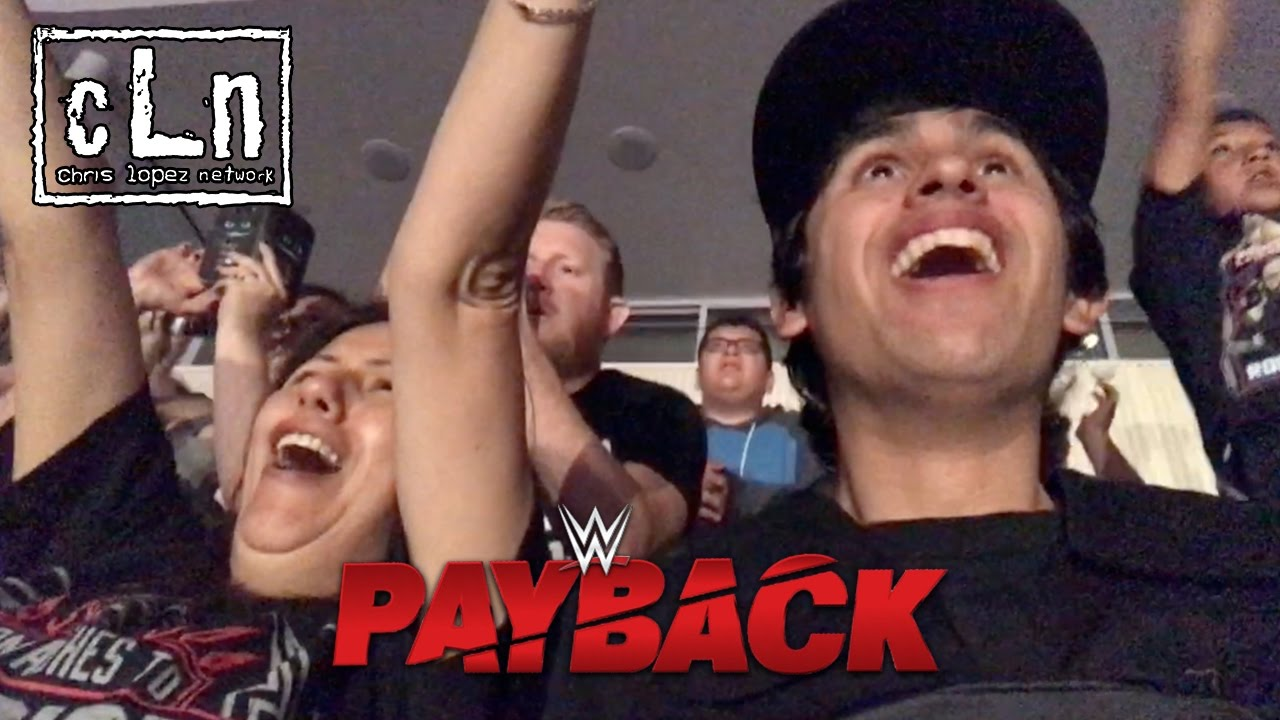 WWE PAYBACK LIVE REACTIONS!!!! | DITL #17