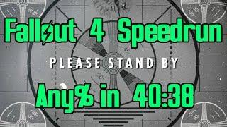 Fallout 4 World Record Speedrun in 40:38