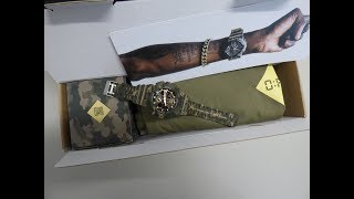 G Shock GA 100CMOPM 5AER unboxing by TheDoktor210884