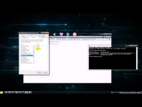 Change (Spoof) Your MAC address in Windows 7 (Wired/Wireless) *READ DESCRIPTION*