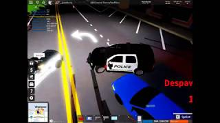 Roblox Ultimate Driving Patrol with my friends and Pursuit and Pursuit