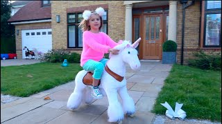 Katy and Max not share dolls and horses
