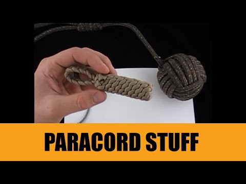 Paracord stuff youtube for Things made out of paracord