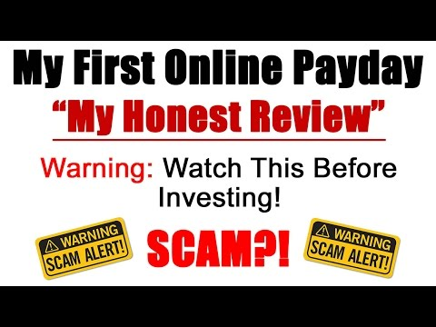 Is My First Online Payday A Scam Or Legit? My Honest Review - Important!