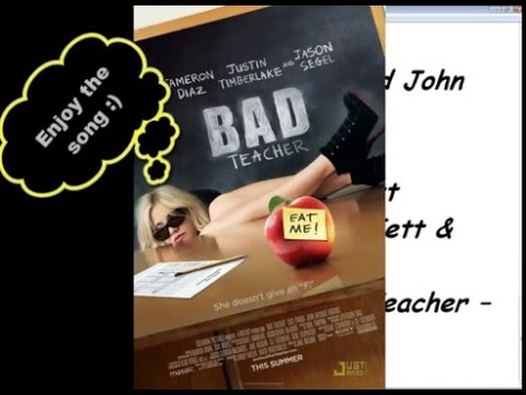 Bad Teacher Soundtrack list