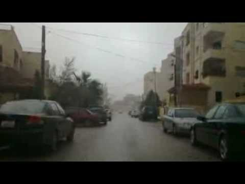 The lovely winter weather in Amman - Khilda area
