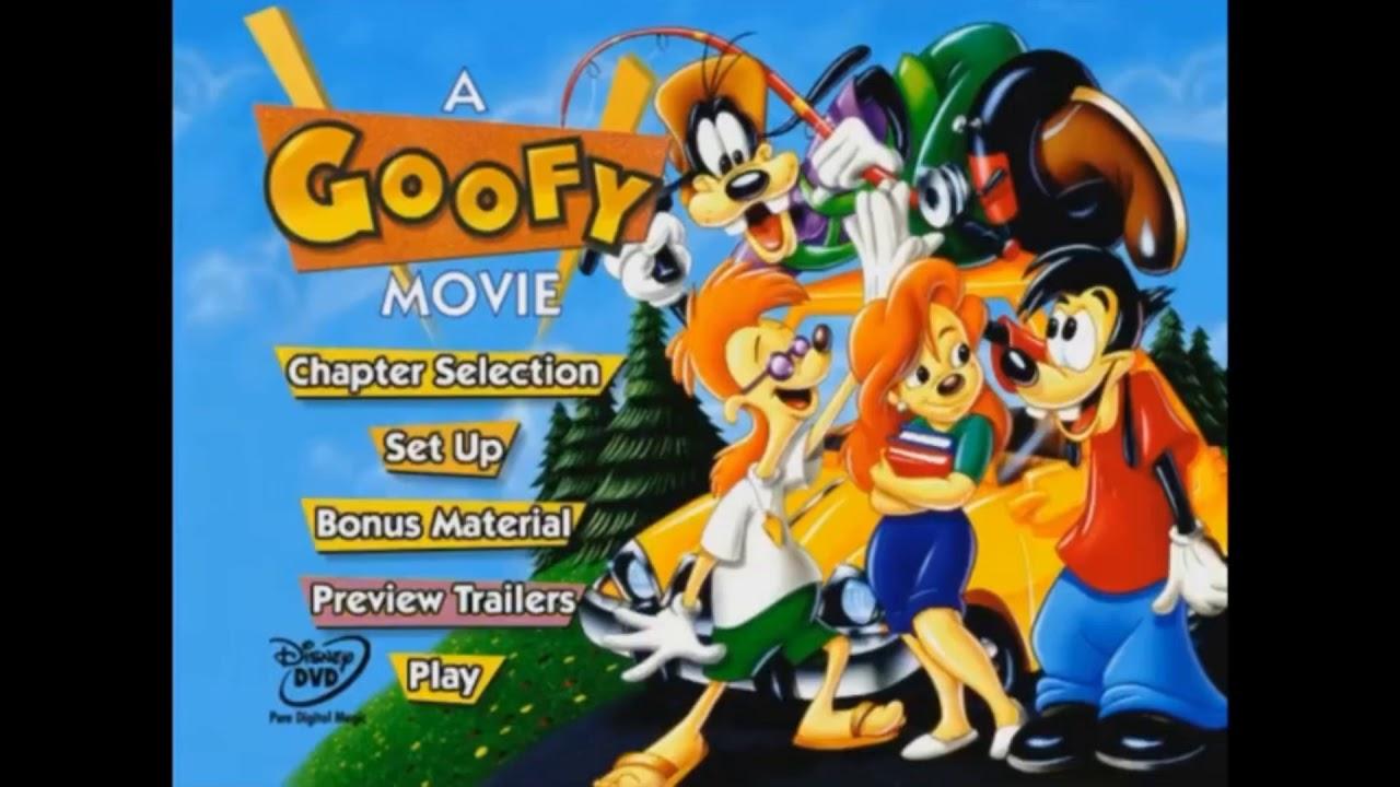 A Goofy Movie DVD Menu Walktrough - YouTube