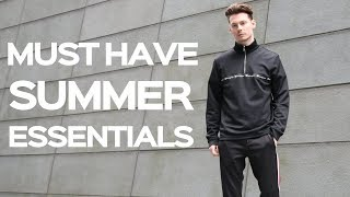 Mens Summer Essentials Every Guy Should Have - Mens Fashion 2018