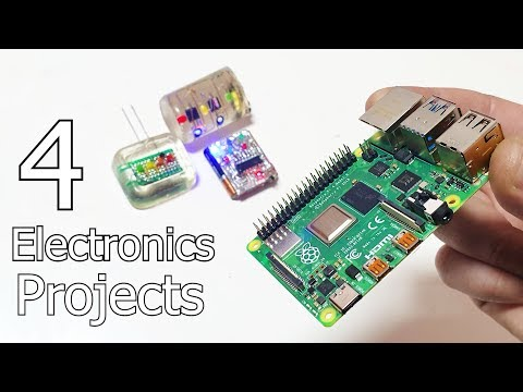 4 Electronic Life Hacks 4 DIY Electronics Projects
