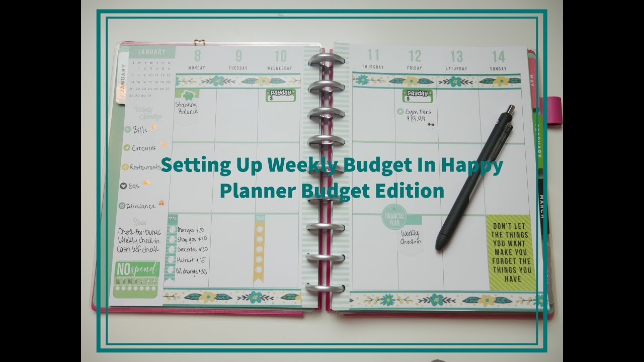 weekly budget plans - Romeo.landinez.co