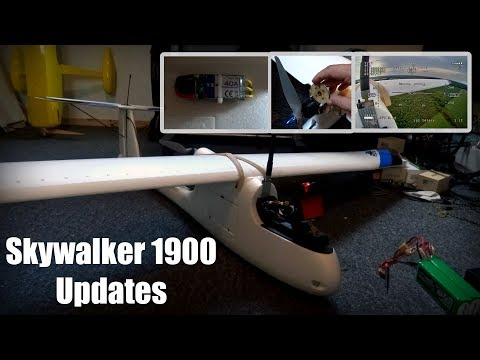 Skywalker 1900 Updates/Changes, back in the air!