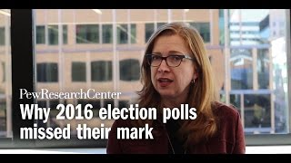 Why 2016 election polls missed their mark