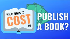 How Much Does it Cost to Publish a Book? A Breakdown of Full Self-Publishing Expenses